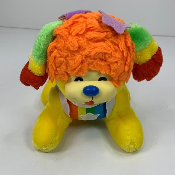 """Vintage Mattel 1983 Rainbow Brite 10"""" Dog Puppy"""